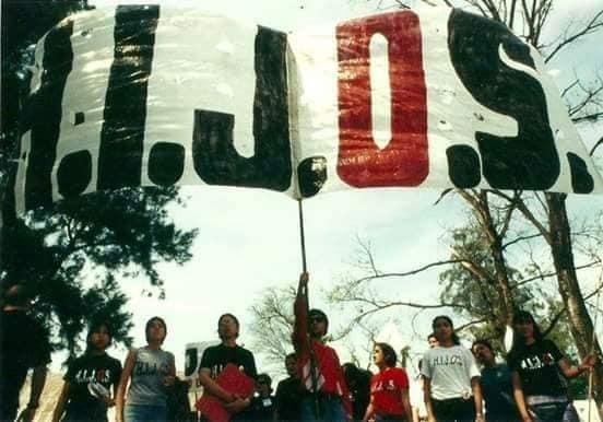 Agrupación H.I.J.O.S, años 90
