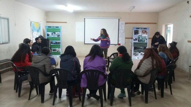 """Memoria y presente, en el Centro Educativo en Derechos Humanos """"Ana María Sosa"""""""